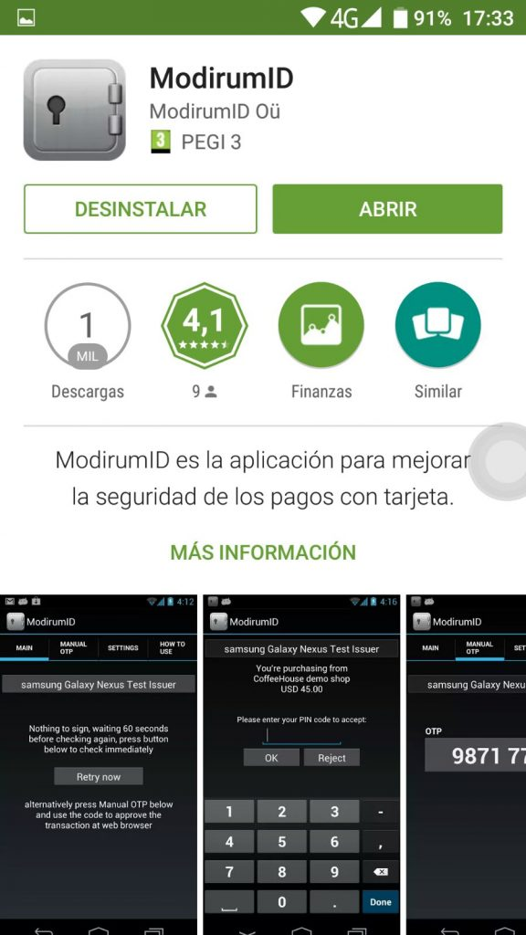 ModirumID en Google Play